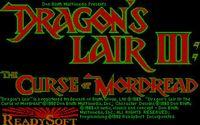 Cкриншот Dragon's Lair III: The Curse of Mordread, изображение № 748175 - RAWG
