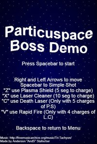 Cкриншот Particuspace Boss Demo 1, изображение № 1276054 - RAWG
