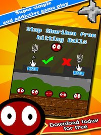 Cкриншот Bouncy Bouncing Shuriken Ball - by Cobalt Play Games, изображение № 1758109 - RAWG