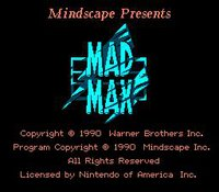 Cкриншот Mad Max (1990), изображение № 736705 - RAWG