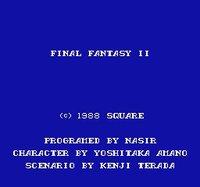 Final Fantasy II (1988) screenshot, image №729639 - RAWG