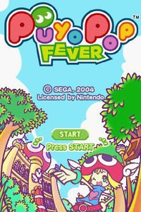 Cкриншот Puyo Pop Fever (2004), изображение № 733173 - RAWG