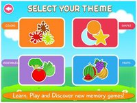 Cкриншот First Words Memory Cards Free by Tabbydo: Twinmatch learning game for Kids & Toddlers, изображение № 2177492 - RAWG