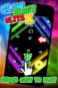 Cкриншот Glow Blast Blitz X - the free fast and furious training game for tap tap games, изображение № 1757861 - RAWG
