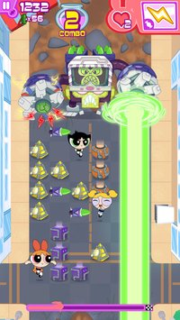 Cкриншот Flipped Out – The Powerpuff Girls Match 3 Puzzle / Fighting Action Game, изображение № 50302 - RAWG