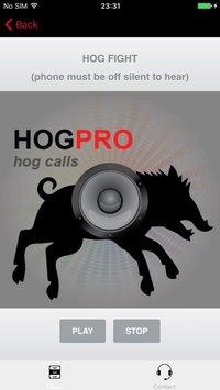 Cкриншот REAL Hog Calls - Hog Hunting Calls - Boar Calls, изображение № 1729294 - RAWG