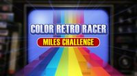 FIRST STEAM GAME VHS - COLOR RETRO RACER: MILES CHALLENGE screenshot, image №710249 - RAWG