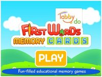 Cкриншот First Words Memory Cards Free by Tabbydo: Twinmatch learning game for Kids & Toddlers, изображение № 2177493 - RAWG
