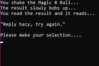 Cкриншот Magic 8 Ball Simulator, изображение № 2422157 - RAWG