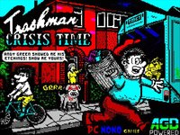 Cкриншот TRASHMAN Crisis Time ZX Spectrum 48/128k, изображение № 2369461 - RAWG