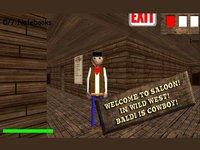 Sheriff Baldi in Wild West screenshot, image №1983054 - RAWG