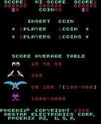 Cкриншот Phoenix (1980), изображение № 726293 - RAWG