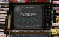 FIRST STEAM GAME VHS - COLOR RETRO RACER: MILES CHALLENGE screenshot, image №710254 - RAWG