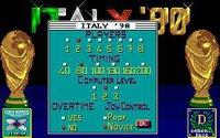 Italy '90 Soccer screenshot, image №748817 - RAWG