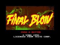 Final Blow screenshot, image №754963 - RAWG