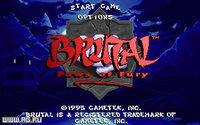 Cкриншот Brutal: Paws of Fury, изображение № 288347 - RAWG