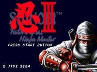 Shinobi III: Return of the Ninja Master screenshot, image №179287 - RAWG