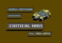 Cкриншот Critical Mass (1985), изображение № 756769 - RAWG