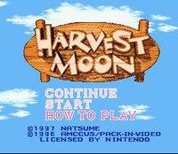 Cкриншот Harvest Moon, изображение № 761774 - RAWG