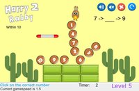 Cкриншот HarryRabby 2 Elementary Math - Missing number in a sequence, изображение № 1833118 - RAWG