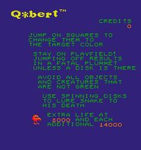 Q*bert screenshot, image №727394 - RAWG