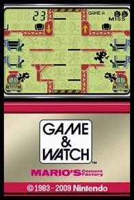 Game & Watch: Mario's Cement Factory screenshot, image №783403 - RAWG