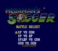 Mega Man Soccer screenshot, image №762154 - RAWG