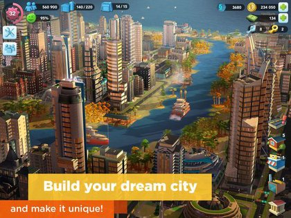 SimCity BuildIt - release date, videos, screenshots, reviews on RAWG