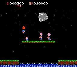 Balloon Fight (1985) screenshot