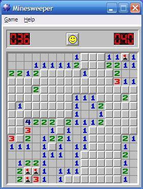 MineSweeper (Microsoft) screenshot