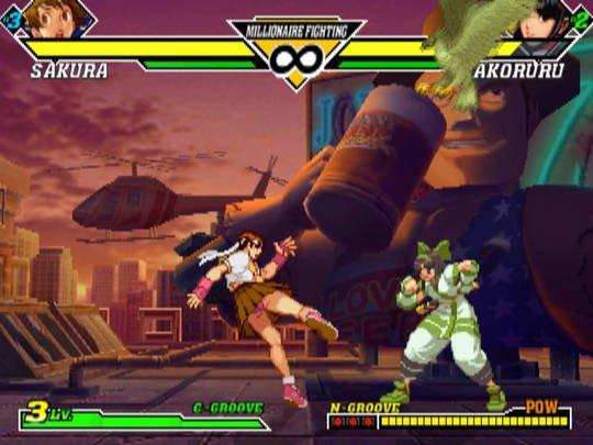 Capcom vs. SNK 2: Mark of the Millennium 2001 screenshot