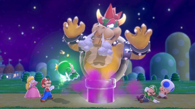 Super Mario 3D World screenshot