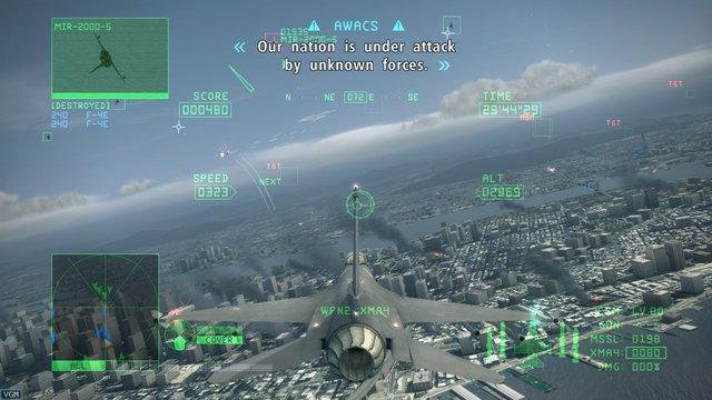 Ace Combat 6: Fires of Liberation screenshot
