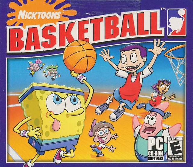 Nicktoons Basketball screenshot