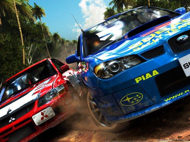 SEGA Rally screenshot