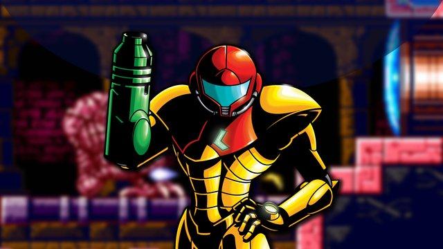 Metroid: Zero Mission screenshot