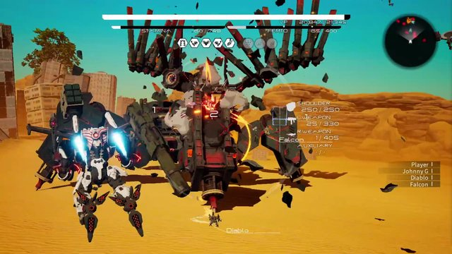 DAEMON X MACHINA: Prototype Missions screenshot