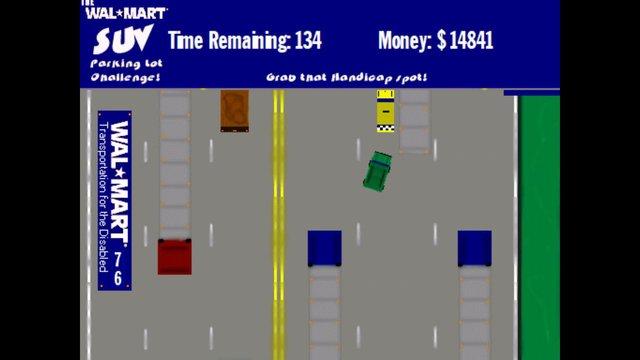 The Wal-Mart SUV Parking Lot Challenge screenshot
