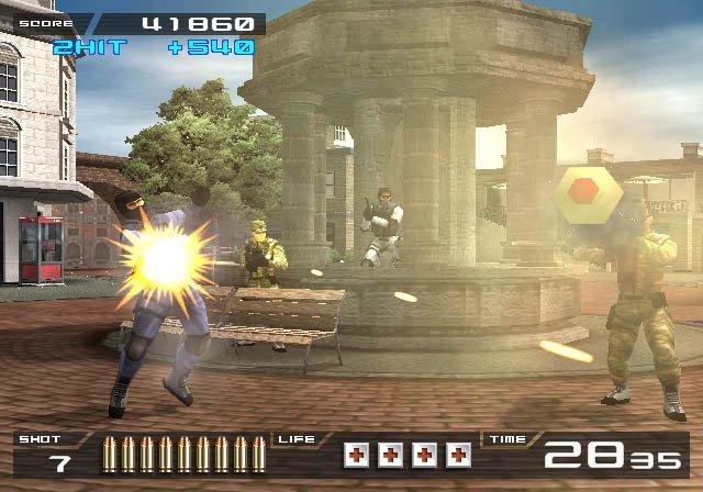 Time Crisis II screenshot