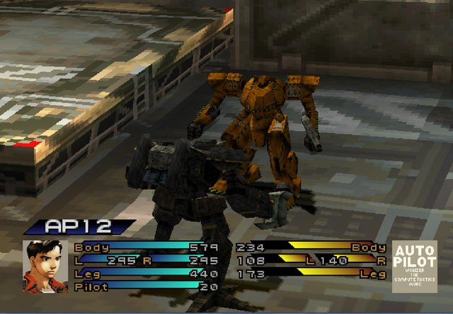 Front Mission 3 screenshot