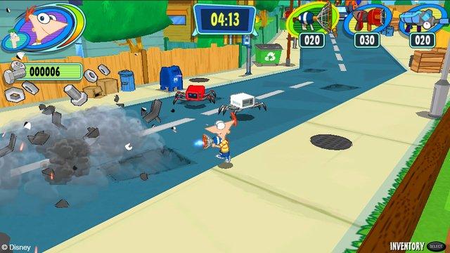 Phineas and Ferb: Day of Doofenshmirtz screenshot
