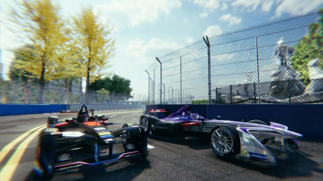 Formula E powered by Virtually Live screenshot