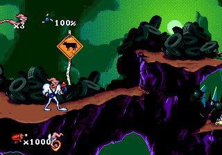 Earthworm Jim (1994) screenshot