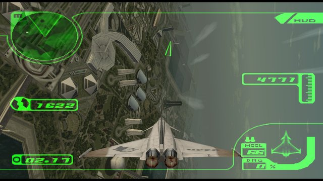 Ace Combat 3: Electrosphere screenshot