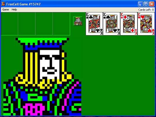 Freecell (1992) screenshot