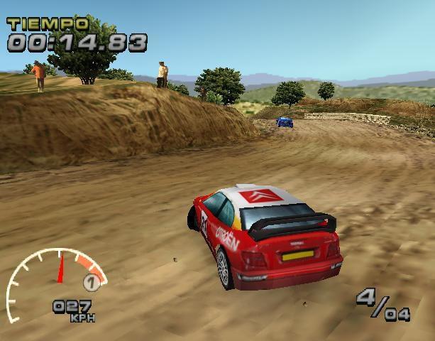 WRC Arcade screenshot