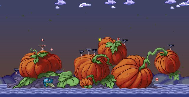 Worms Armageddon screenshot