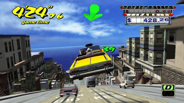 Crazy Taxi (1999) screenshot