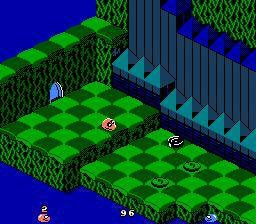 Snake Rattle 'n' Roll screenshot