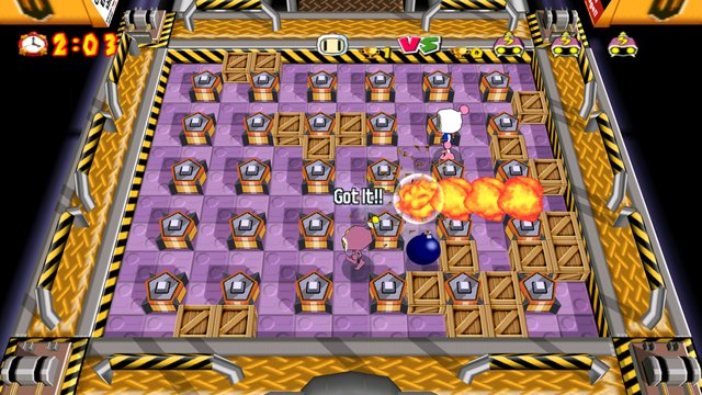 Bomberman Online screenshot